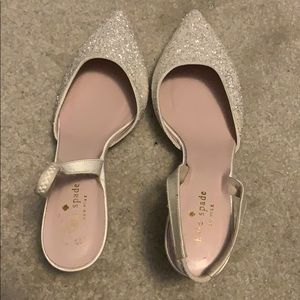 Kate Spade kitten heels